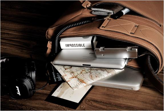 Hardgraft's 3Fold Multi-Use Bag