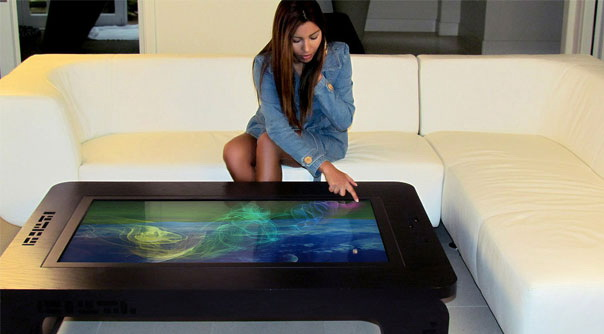Mozayo Interactive Multi-Touch Table