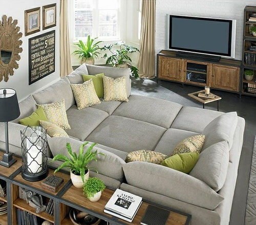 Cool Couch Big Living Room Design