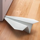 Paper Airplane Doorstop