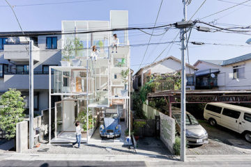 The Transparent House In Japan
