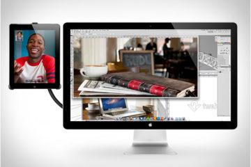 iPad Hoverbar Expands Your Desktop