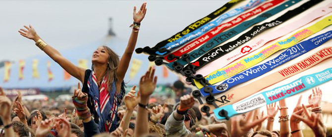 Festivals & Concerts Wristbands