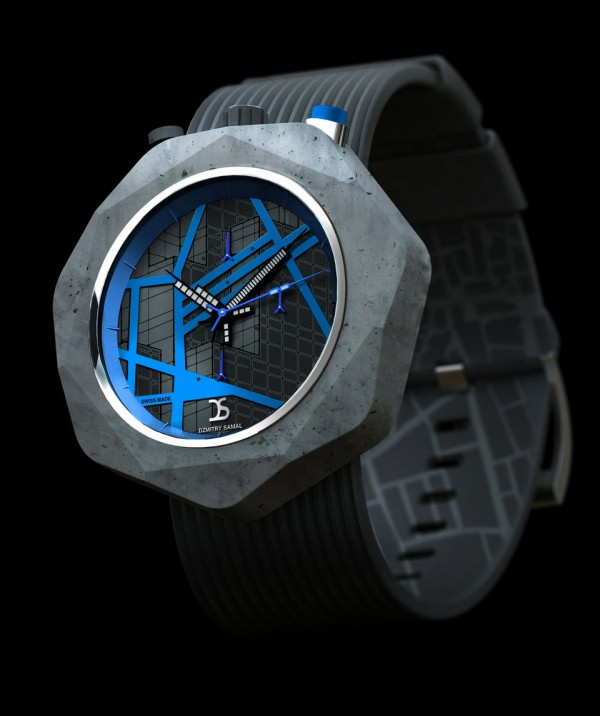 Dzmitry Samal Concrete Watch One