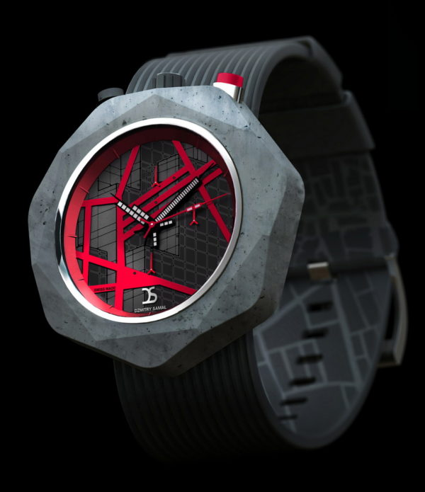 Dzmitry Samal Concrete Watch Two