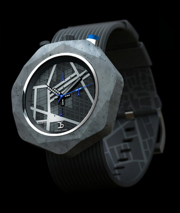 Dzmitry Samal Concrete Watch Three
