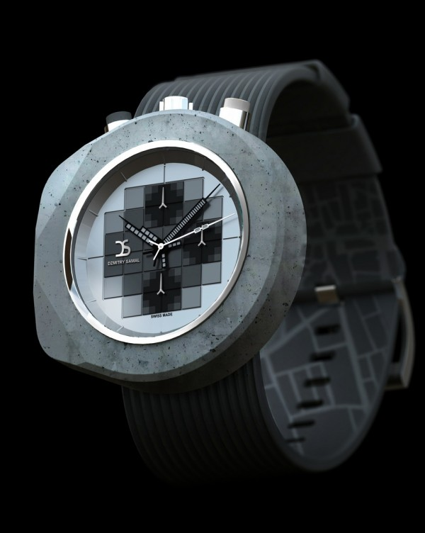 Dzmitry Samal Concrete Watch Four