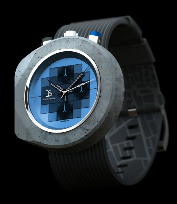 Dzmitry Samal Concrete Watch Five