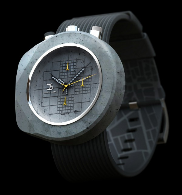 Dzmitry Samal Concrete Watch Six