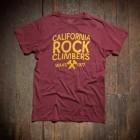 CA Rock Climbers Tee