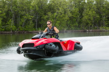 The Quadski - both a jetsky and an ATV 1
