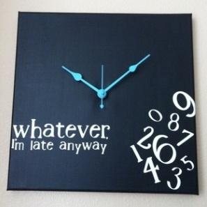 I'm Late Clock