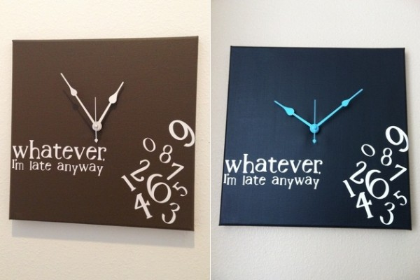 Whatever-Im-late-anyway-wall-clock