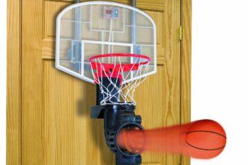 Basketball shoot the ball back