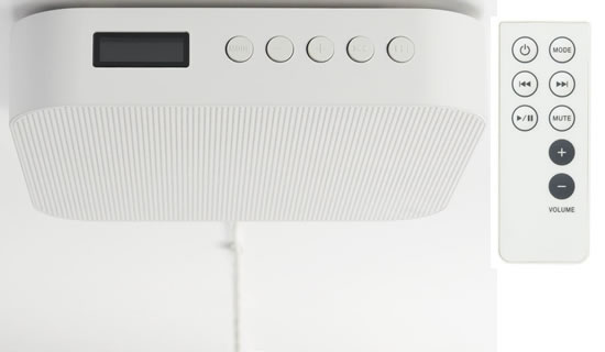 Wall Mount Bluetooth Speaker Hispotion