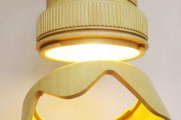 DSRL Paparazzi Wooden Lamp