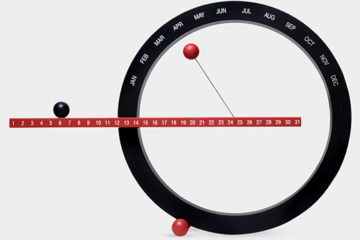 13352_A2_Black_and_Red_Perpetual_Calendar