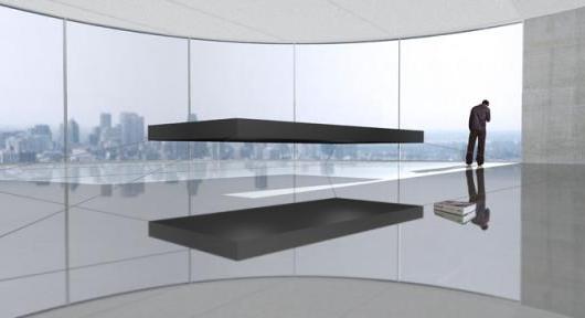 magnetic floating bed2