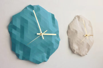 Faceted Wall Clock 1