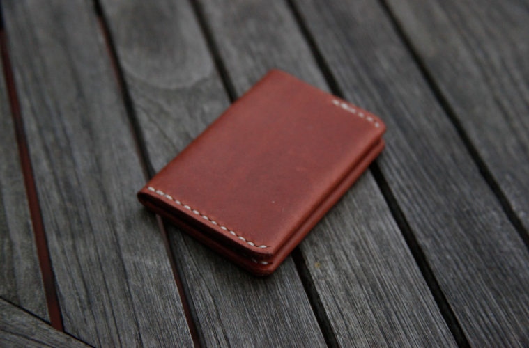 Ultra Slim Leather Wallet 1