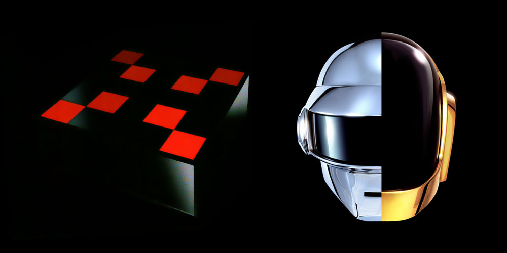 Daft punk coffee table hispotion - Table daft punk ...
