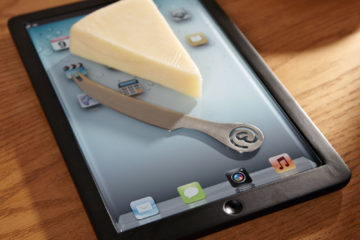 Cheese board ipad