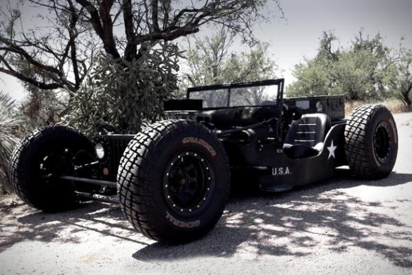 1945 Willys Jeep Rat Rod 1