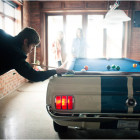 Shelby GT 350 Pool Table