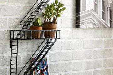 Fire Escape Wall Shelf 5