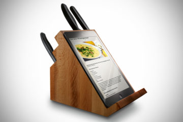 Victorinox-Knife-Block-with-Tablet-Stand-Rear