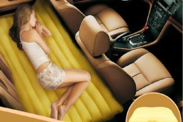 Fuloon(TM) Car Travel PVC Inflatable Bed