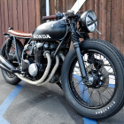 Custom Built 1975 Honda ...