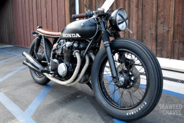 1975 Honda CB 550 Custom Build 2