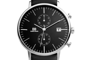 Domed Face Chronograph Watch 1