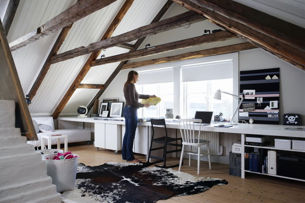36 Attic Offices Because It S Monday Hispotion
