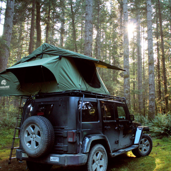 ... can enjoy your electronics from inside the tent. Also this baby will fit all types of vehicles under the condition they are equipped with a roof rack. & Roof-Top Tent. On Your Car - HisPotion
