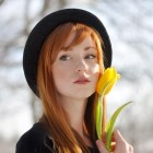 Beautiful Redhead Woman Portrait 23