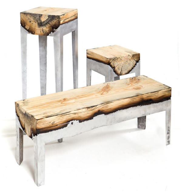 Captivating Aluminum Tree Trunks Furniture 7