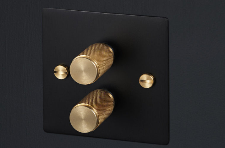 light switches and dimmers by buster punch hispotion. Black Bedroom Furniture Sets. Home Design Ideas