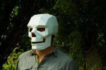 3D Mask For Halloween 6