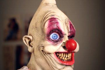holloween scarry clown