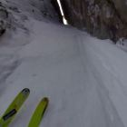 The Most Insane Ski Line...