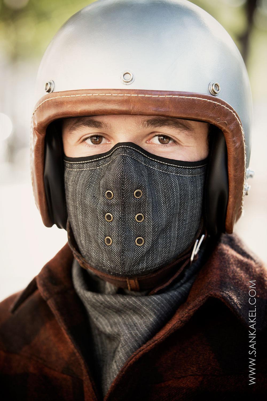 Sankakel Motorcycle Mask And Neck Warmer - HisPotion