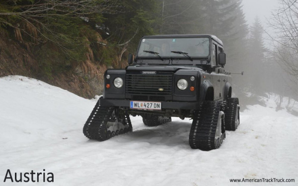 Dominator Track System Turns Your Car Into A Snowmobile