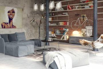 exposed-brick-industrial-design-apartment