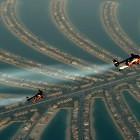 jetpack flying over Dubai video