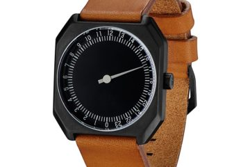 2_angle_-_slow_jo_19_-_swiss_made_24_hour_one_hand_wrist_watch_gmt_movement_brown_vintage_leather_band_black_case_black_dial