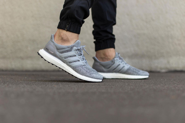 "58cd98c78730e 2. adidas Ultra Boost ""Grey Metallic"" Mens Casual Outfit ."