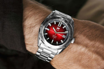 Lew and Huey , Red and gray Orthos watch