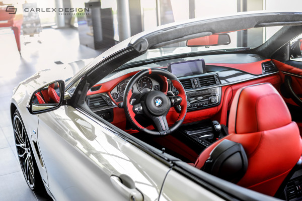 BMW Series Convertible Unique Interior HisPotion - Bmw 4 series interior